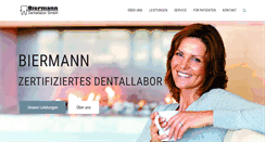 Preview of biermann-dentallabor.de